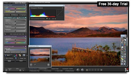 Sagelight 48-bit Image Editor Trial Download