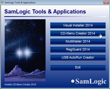 SamLogic CD-Menu Creator Download