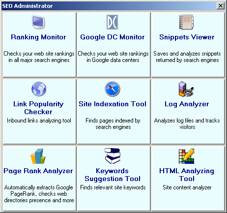 SEO Administrator Download