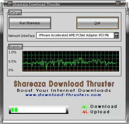 Shareaza Download Thruster Download