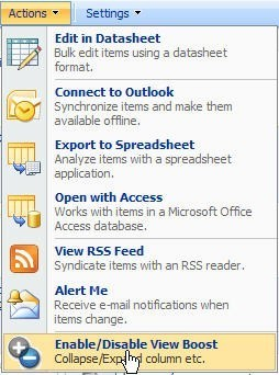 SharePoint View Boost Download