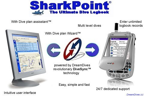 SharkPoint for Windows, the scuba dive log Download