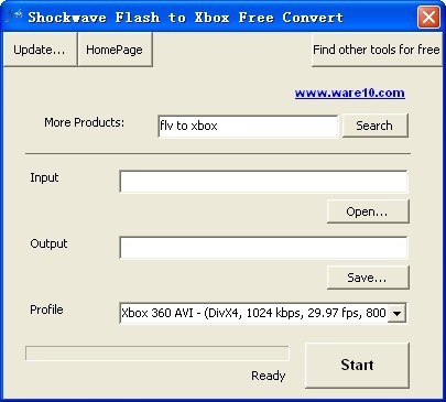 Shockwave Flash to Xbox Free Convert Download
