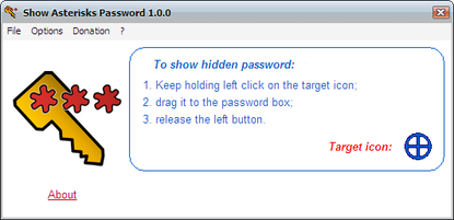 Show Asterisks Password Free Download