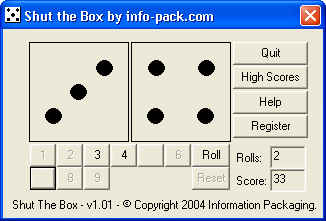 Shut the Box by info-pack.com Download