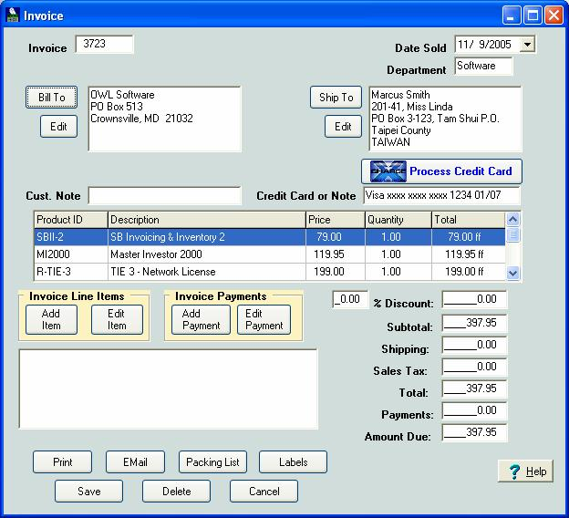 Simple Business Invoicing & Inventory Download