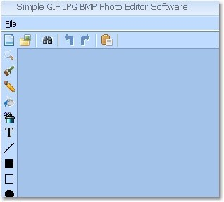 Simple GIF JPG BMP Photo Editor Software Download