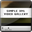 Simple XML video player - FLV gallery Download