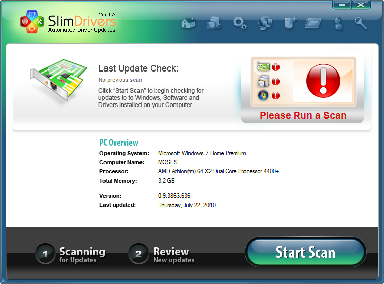 SlimDrivers Download