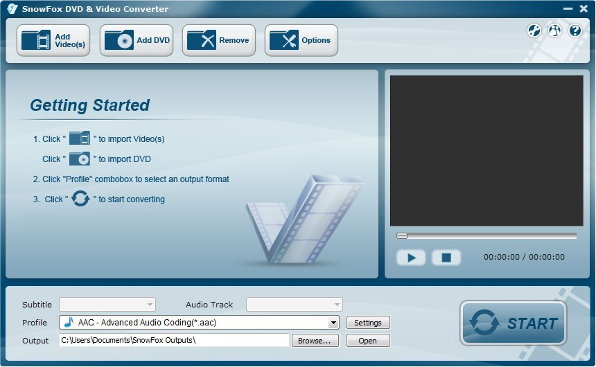 SnowFox DVD & Video Converter Download