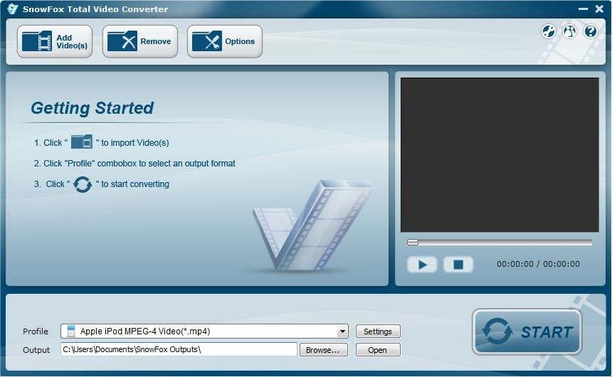SnowFox Total Video Converter Download