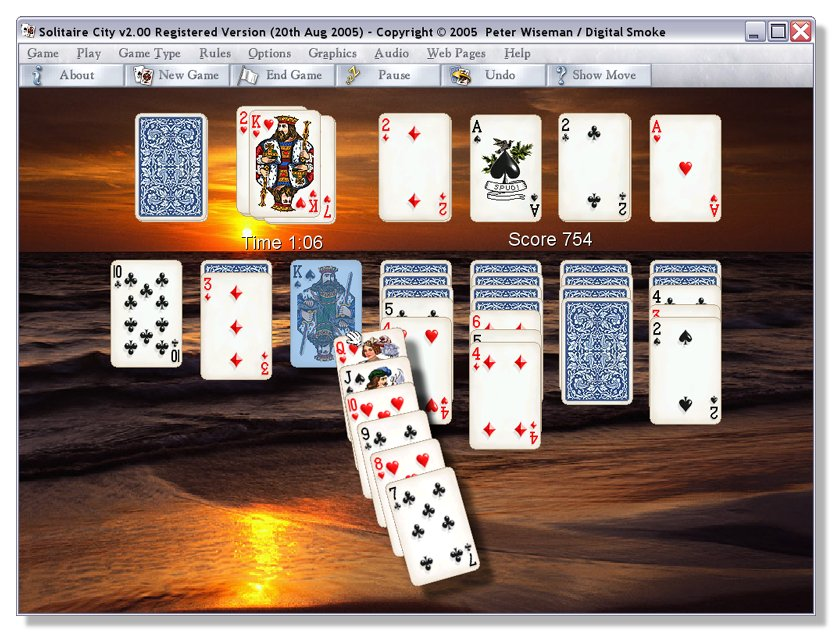 Solitaire City for Windows Download