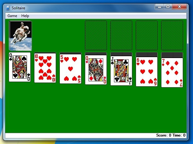 virus free no downloads solitaire game