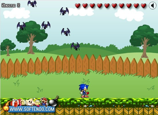 Sonic in Garden Download