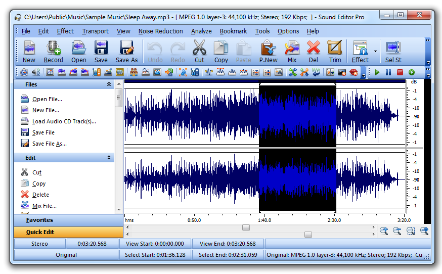 Sound Editor Pro Download
