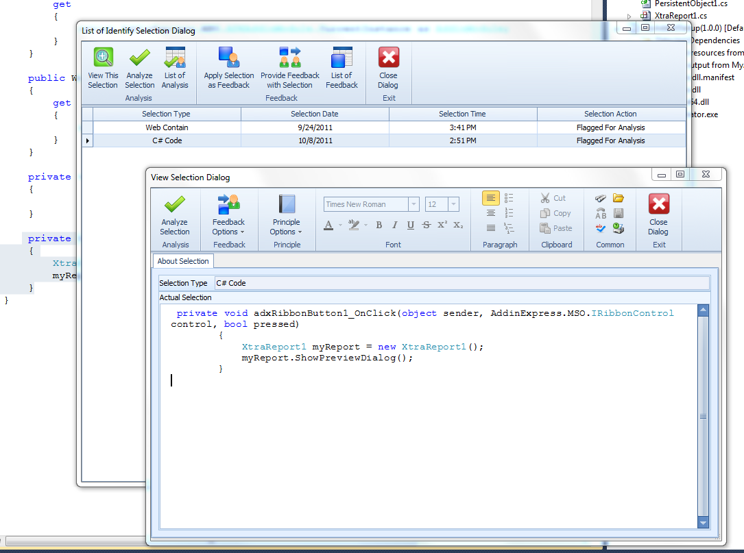 Speak Logic Information Analysis for Visual Studio V Download