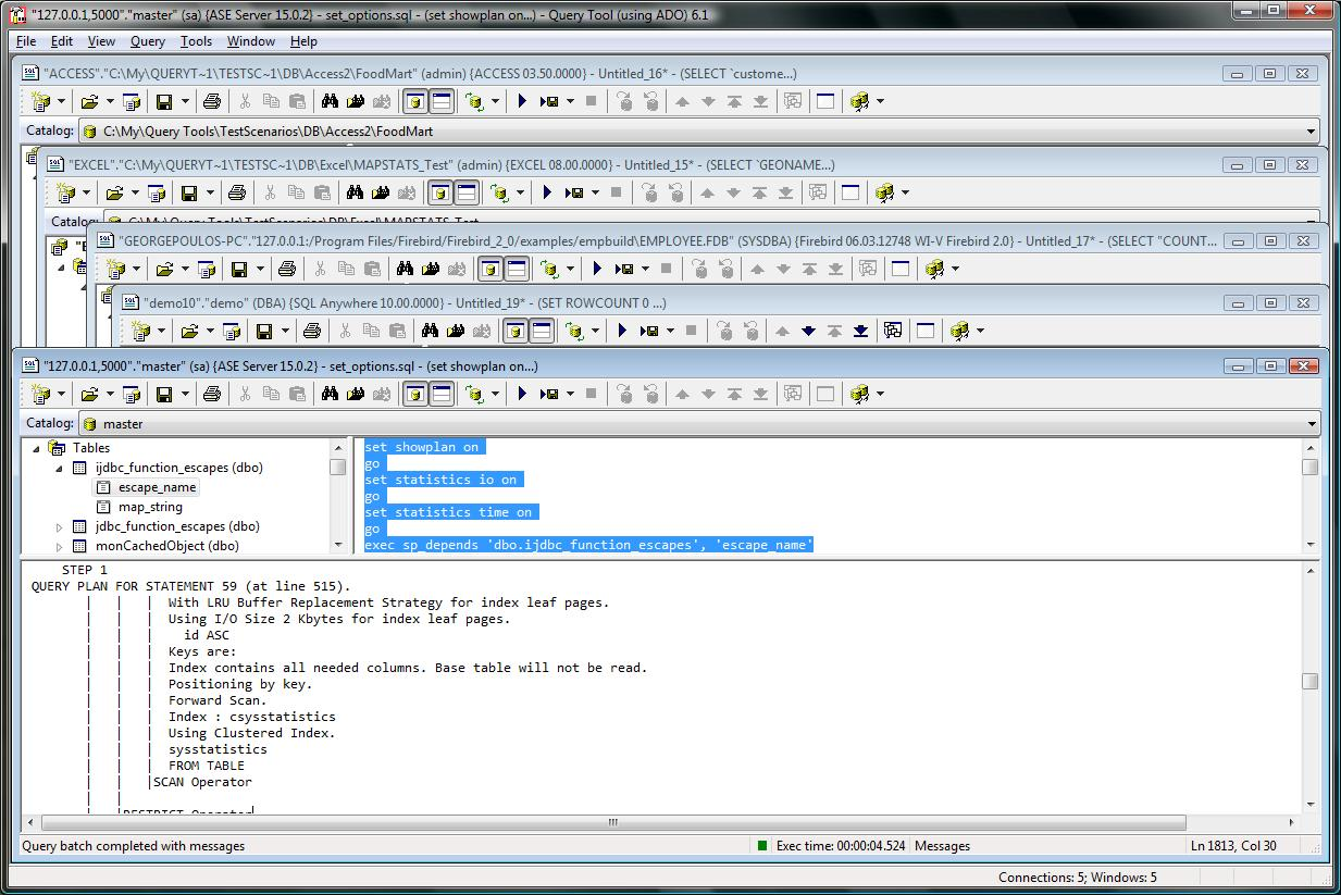 SQL Query Tool (using ADO) Download