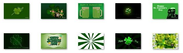 St. Patrick's Day Windows 7 Theme Download