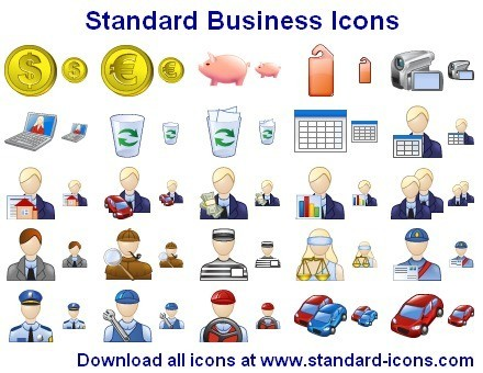 Standard Business Icons Download