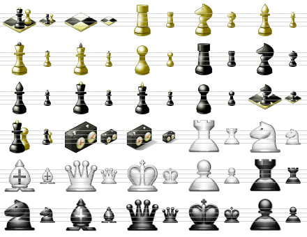 Standard Chess Icons Download
