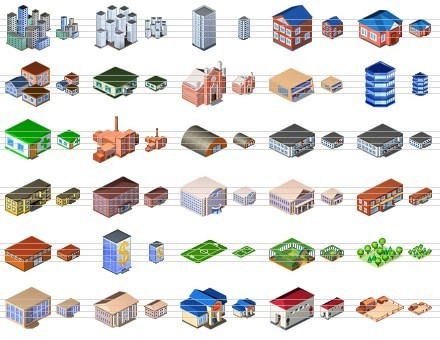 Standard City Icons Download