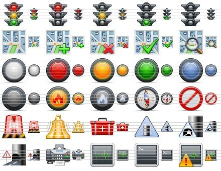 Standard Road Icons Download