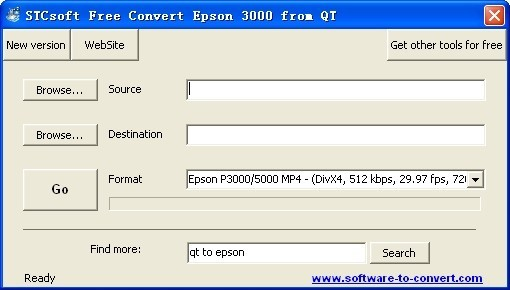 STCsoft Free Convert Epson 3000 from QT Download