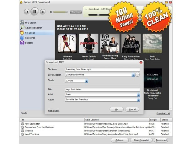 Super MP3 Download for Mac Download