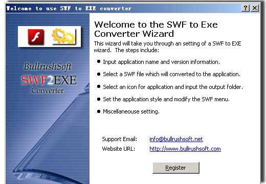 Swf to exe Converter - Commercial Download