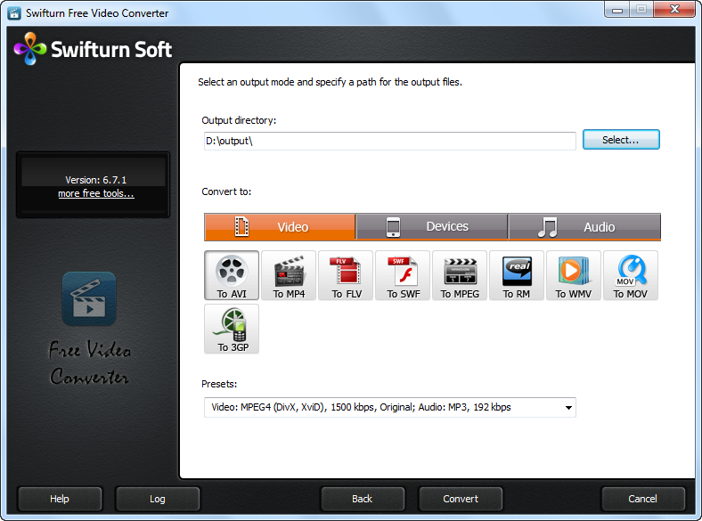 Swifturn Free Video Converter Download