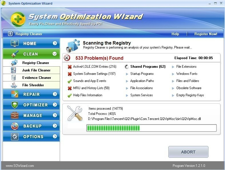 System Optimization Wizard Download