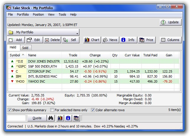TakeStock 0.15j Download