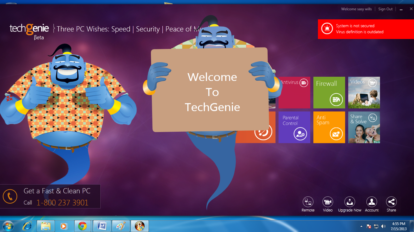 TechGenie Free Antivirus Download