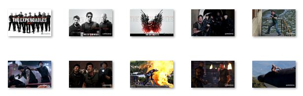 The Expendables Windows 7 Theme Download