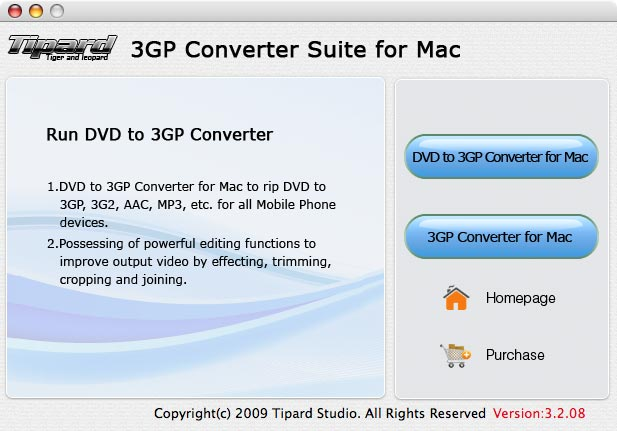 Tipard 3GP Converter Suite for Mac Download