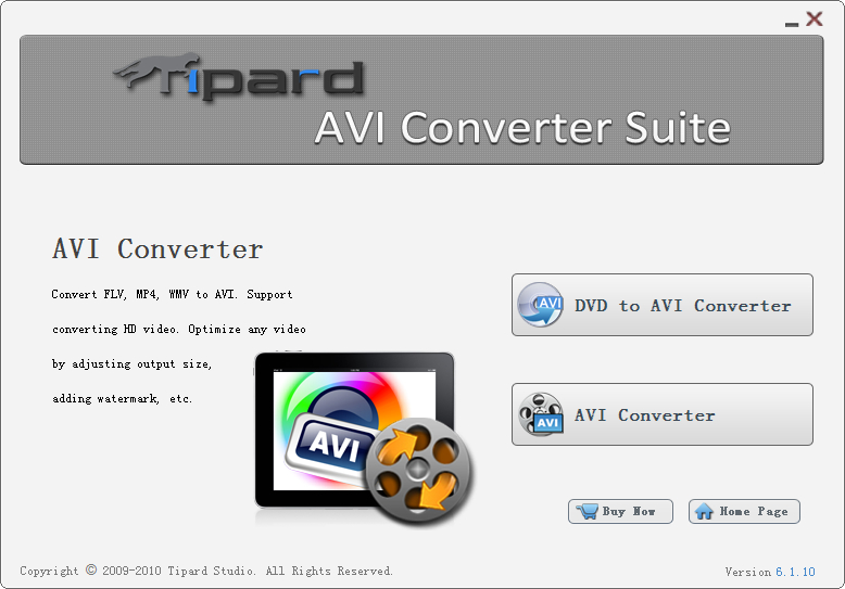 Tipard AVI Converter Suite Download