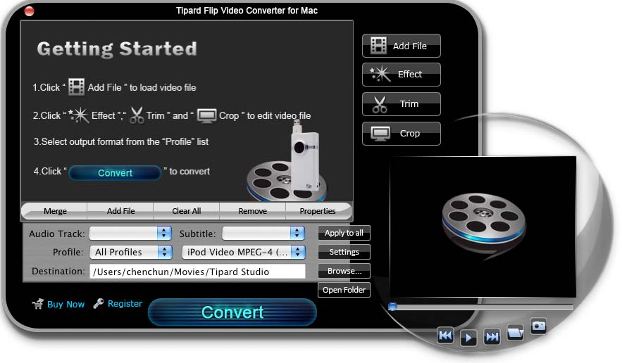 Tipard Flip Video Converter for Mac Download