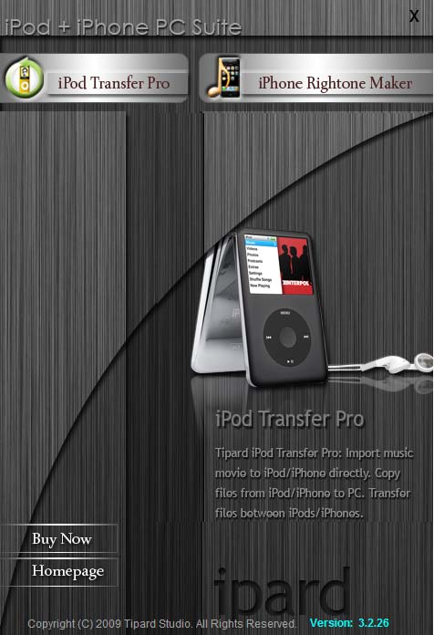 Tipard iPod + iPhone PC Suite Download