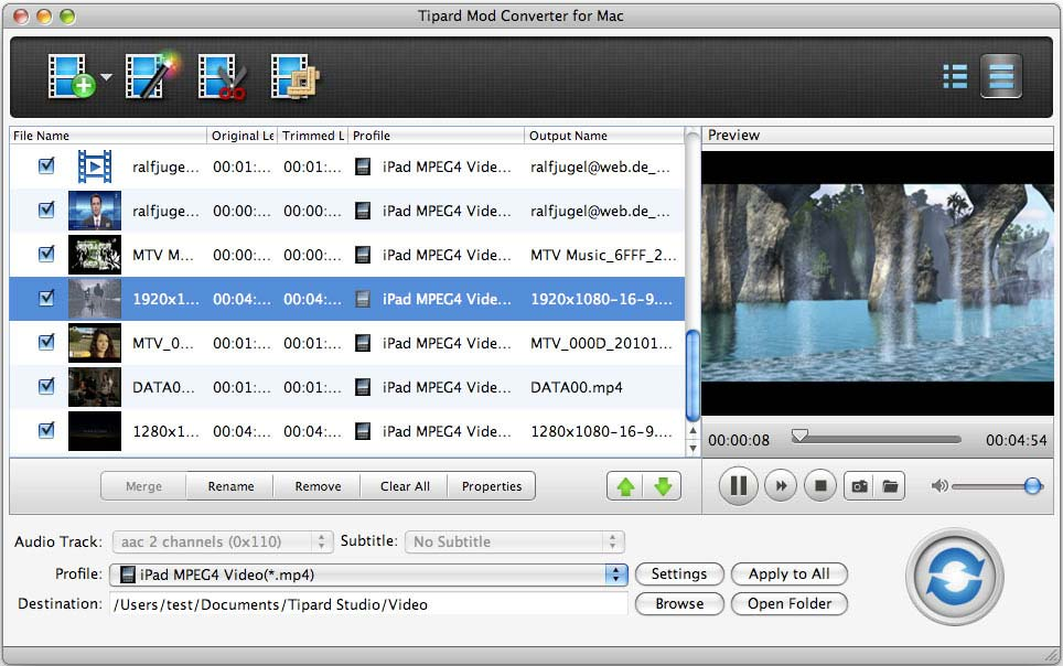 Tipard Mod Converter for Mac Download
