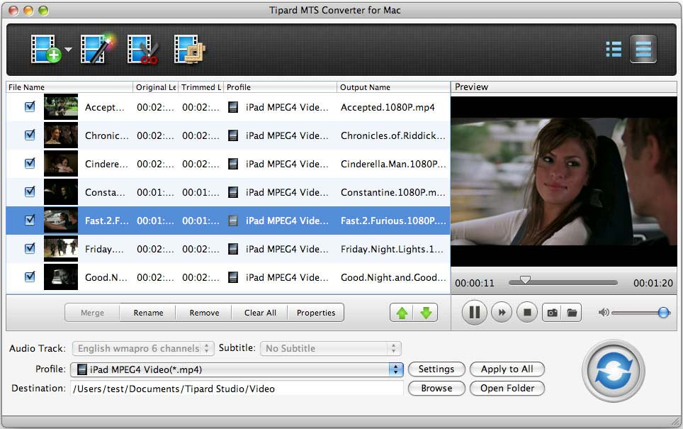 Tipard MTS Converter for Mac Download