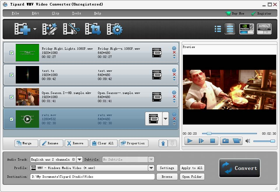Tipard WMV Video Converter Download