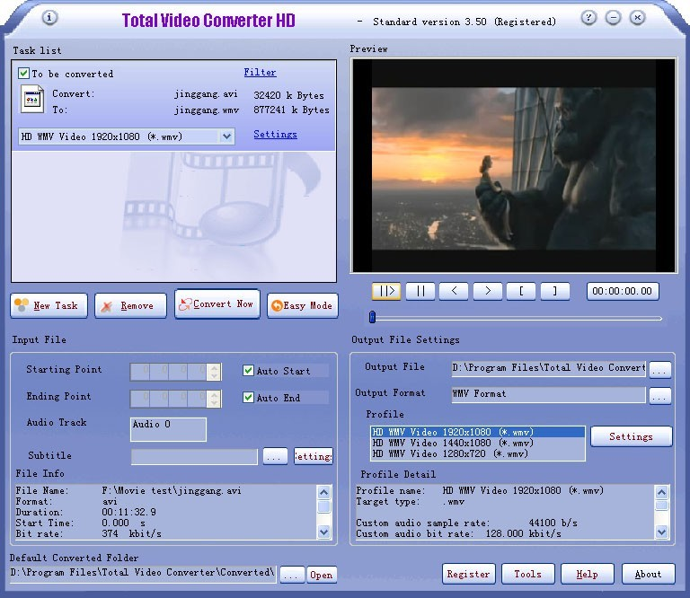 Total Video Converter HD Download