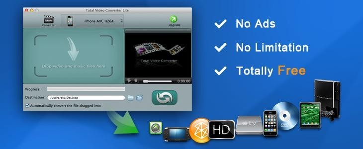 Total Video Converter Lite for Mac Download