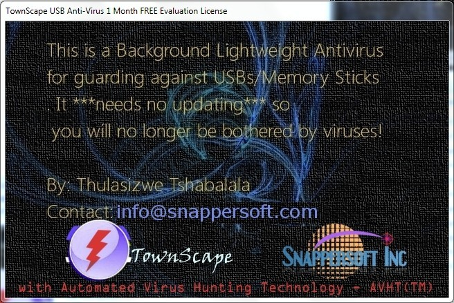 TownScape USB Anti-Virus Download