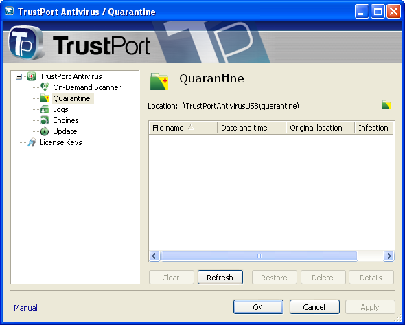 TrustPort Antivirus U3 Edition 2012 Download