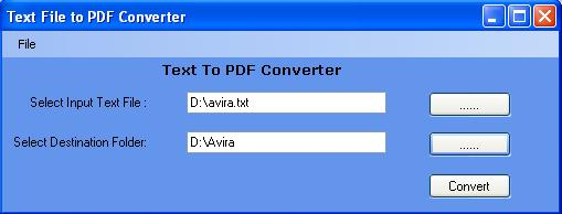 txt to PDF Converter Software Download