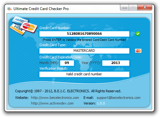 Ultimate Credit Card Checker Pro Download