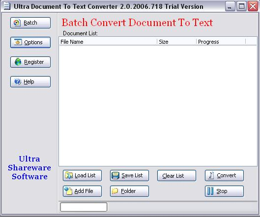 Ultra Document To Text Converter Download