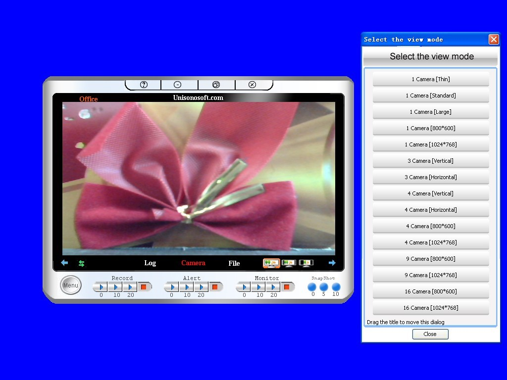 Unisonosoft.com Mini Webcam Robot Video Download