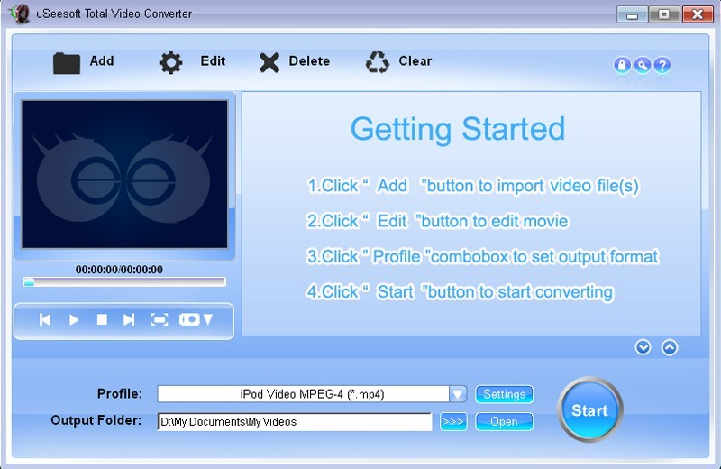 uSeesoft Total Video Converter Download